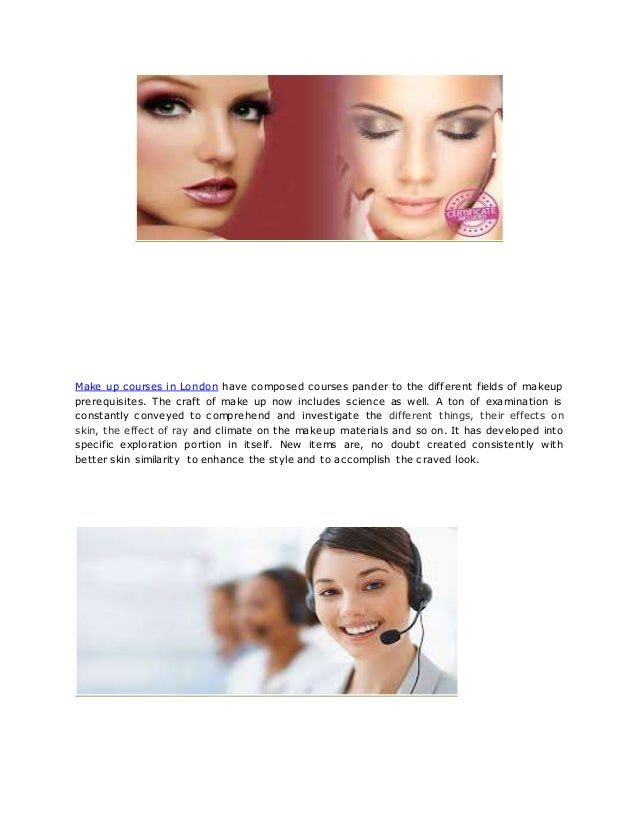 2. Make up courses in London ...
