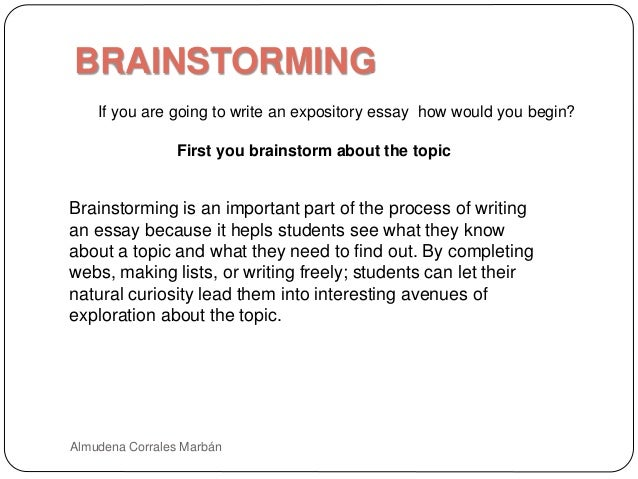 Brainstorming: The First Step to Writing Your Essay Methodology
