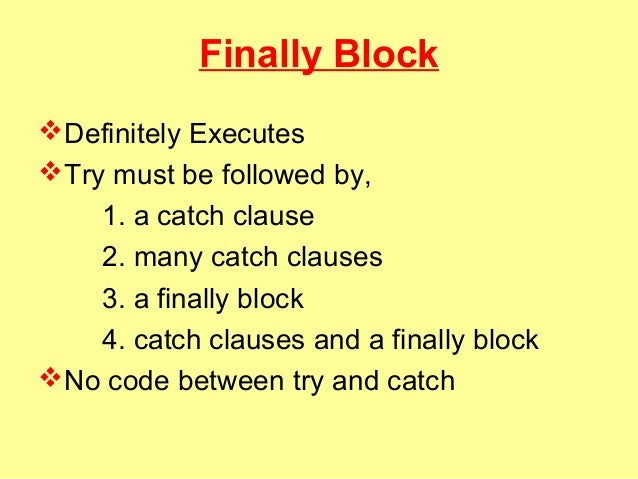 how to handle exception in catch block in c#