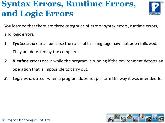 How to handle exceptions in Java Technology