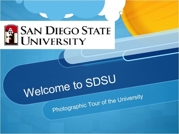 Welcome to SDSU Photographic Tour of the University