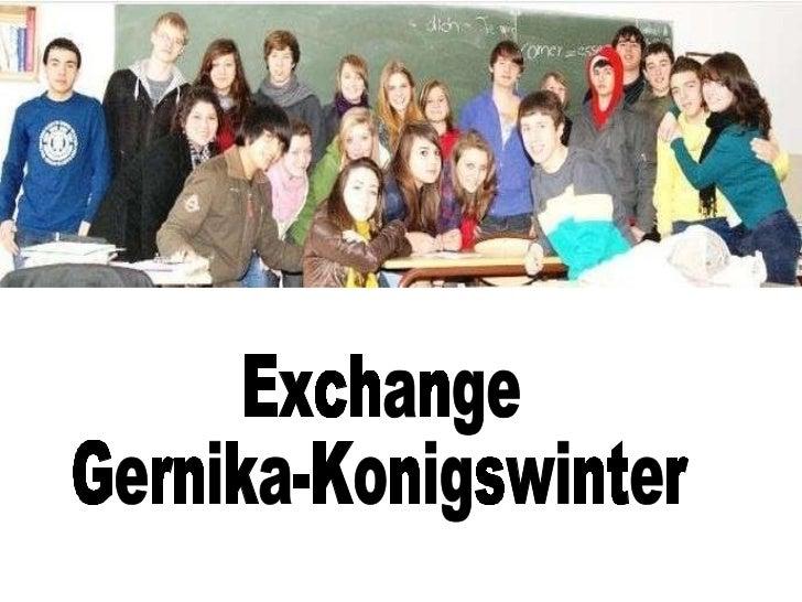 Exchange Gernika-Konigswinter