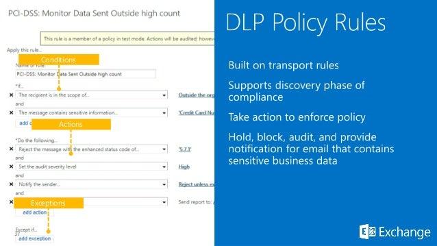 dlp policy
