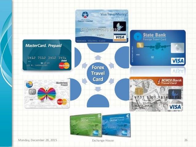 Prepaid forex card sbi