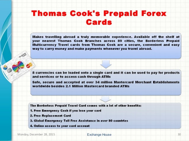 Thomas cook forex card