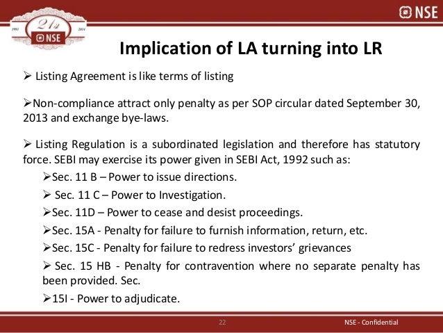 Exchange Prospective On Listing Regulation By Avinash Karkar