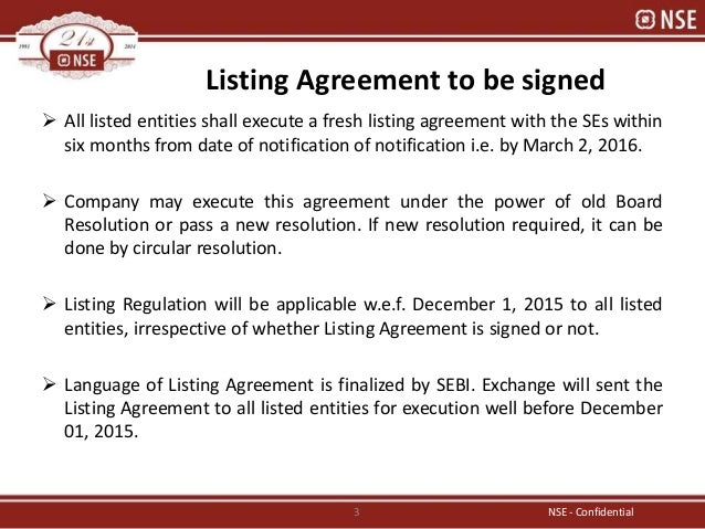 Exchange prospective on listing regulation by avinash karkar listing agreement platinumwayz