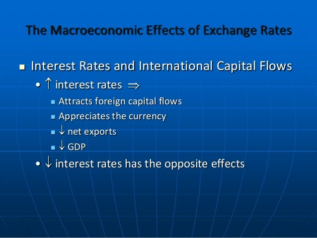 effect of exchange rates on international At the same time, markets are becoming more global  we can separate the  effects of exchange rates on operating profits into margin effects and volume  effects.