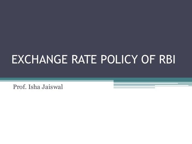 Rbi forex rates