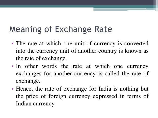 Term currency definition