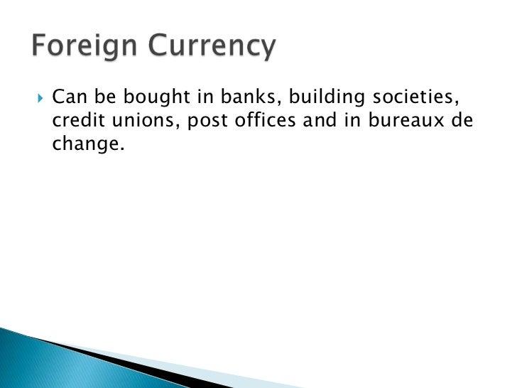 Exchange rate slide show - Post office bureau de change rates ...