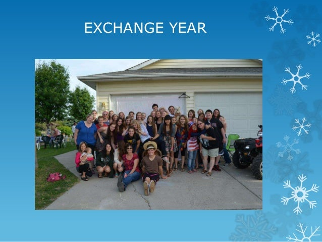 EXCHANGE YEAR