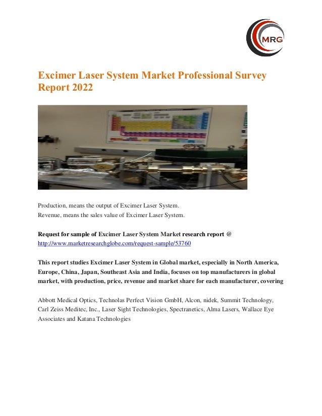 Excimer Laser Market Growth, Size, Trends and Regional
