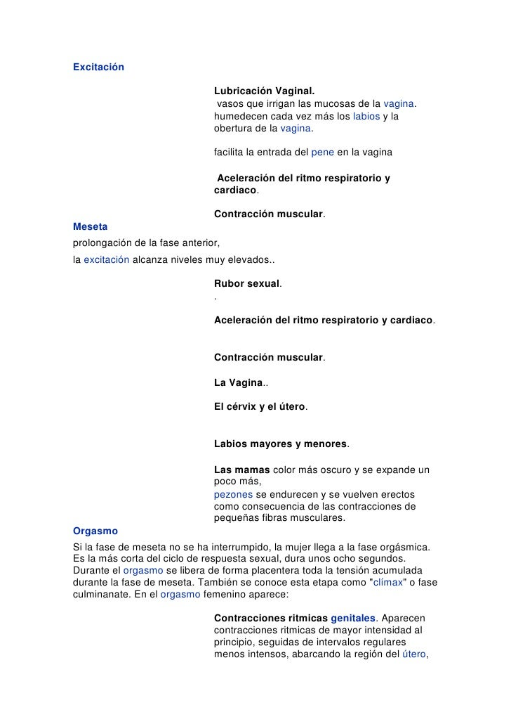 """HYPERLINK """" http://www.sexualidad.es/index.php/Excitaci%C3%B3n""""  o """" Excitación""""  Excitación<br />Lubricación Vaginal.<br..."""