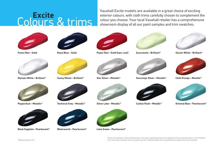 Excite 2012 Models Edition 1