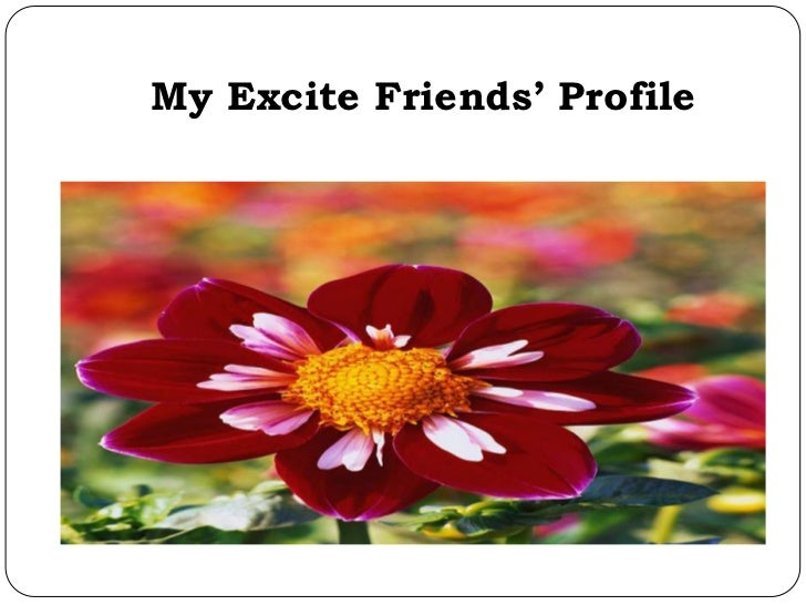 My Excite Friends' Profile
