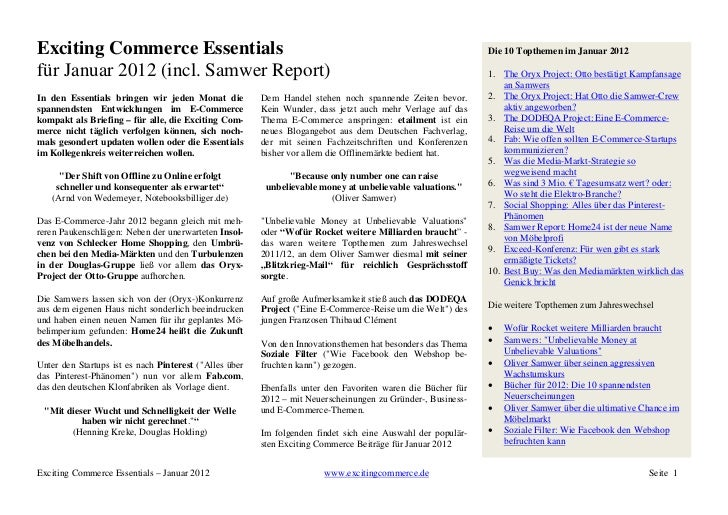 Exciting Commerce Essentials                                                                                 Die 10 Topthe...