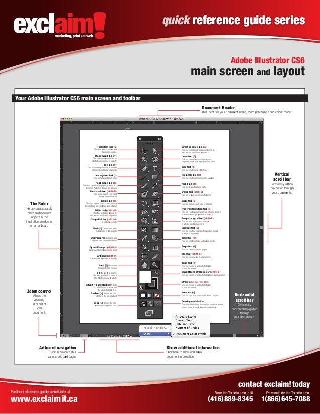 free adobe illustrator cs6 quick reference guide from exclaim rh slideshare net Sublayer Adobe Illustrator Adobe Illustrator Manual PDF