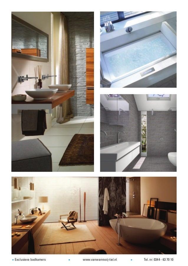 Voorbeelden van exclusieve badkamers