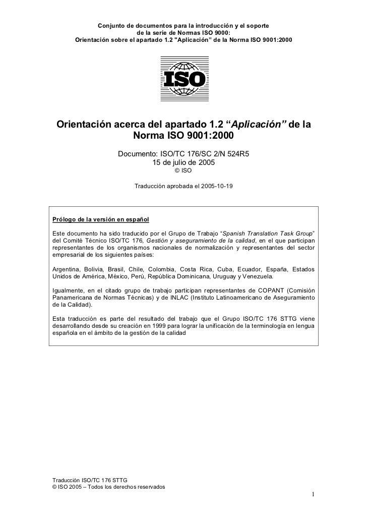 normas iso 9000 en venezuela