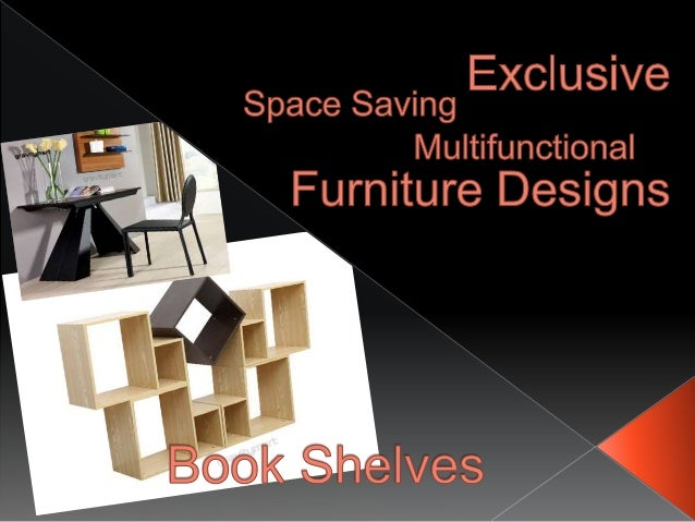 Exclusive Book Shelves Space Saving Furniture