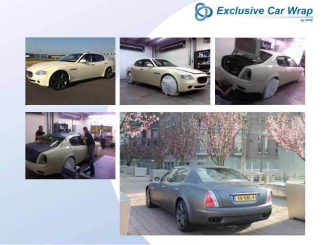 Exclusive Car Wrap is de specialist op het gebied van Car Wrapping. Dankzij onze samenwerking met Blomsma Print & Sign wer...