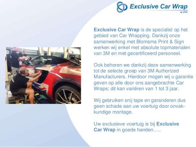 Exclusive Car Wrap Slide 2