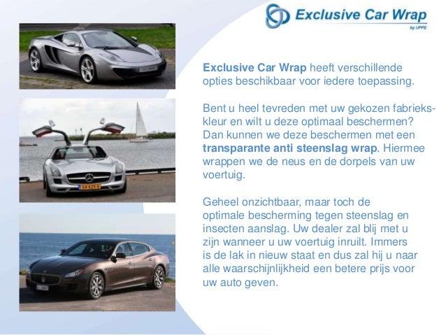 Exclusive Car Wrap Slide 3