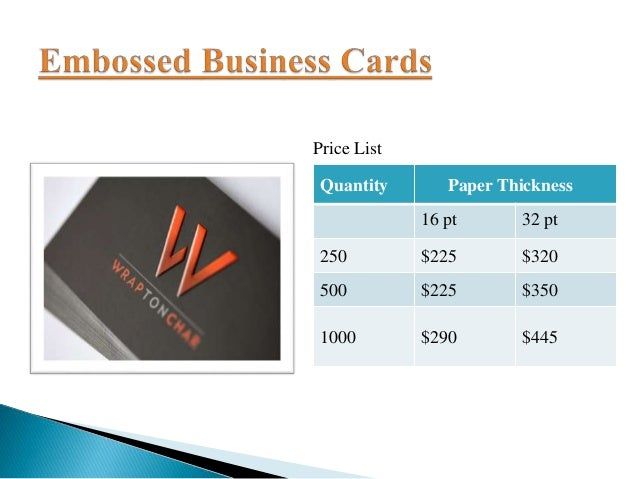 Exclusive offer on business cards price list reheart Choice Image