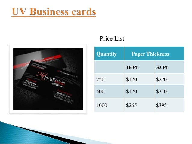Exclusive offer on business cards 5 quantity paper thickness colourmoves