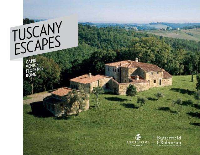 TUSCANY ESCAPES CAPRI VENICE FLORENCE ROME