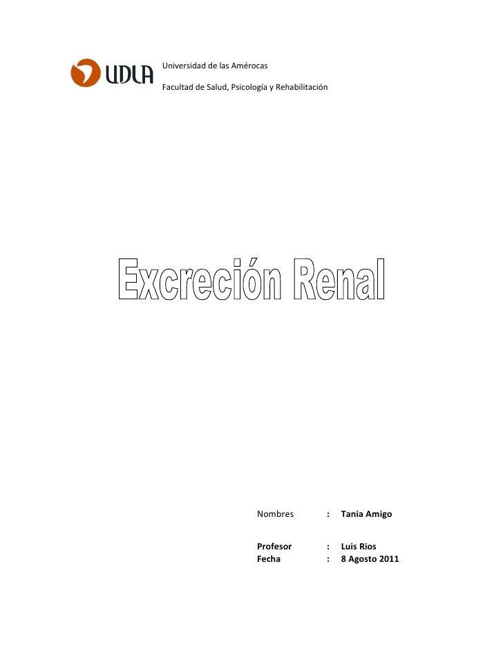 Universidad de las AmérocasFacultad de Salud, Psicología y Rehabilitación                          Nombres            :   ...