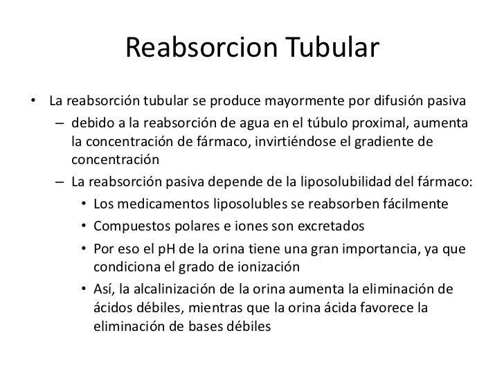 Secreción Tubular<br />La secreción tubular puede ser activa o pasiva<br />Secreción pasiva <br />se realiza en la parte m...