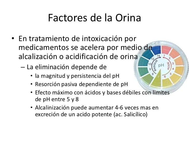 Factores de la Orina<br />Si orina tubular es <br />Mas Alcalina <br />Se excretan ácidos débiles rápidamente y en mayor m...