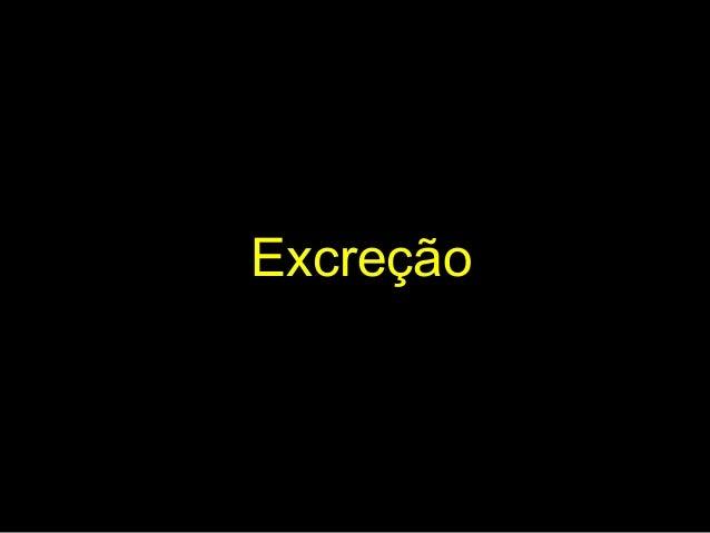 Excreção