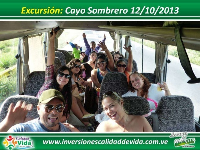 Excursion cayo sombrero 12 10 2013