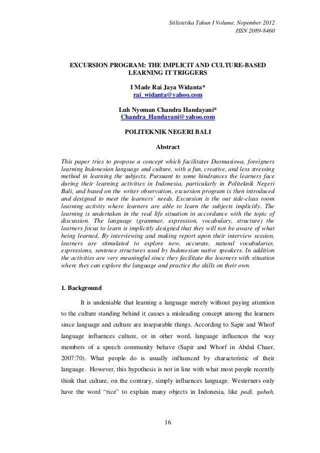 Stilistetika Tahun I Volume, Nopember 2012                                                                      ISSN 2089-...