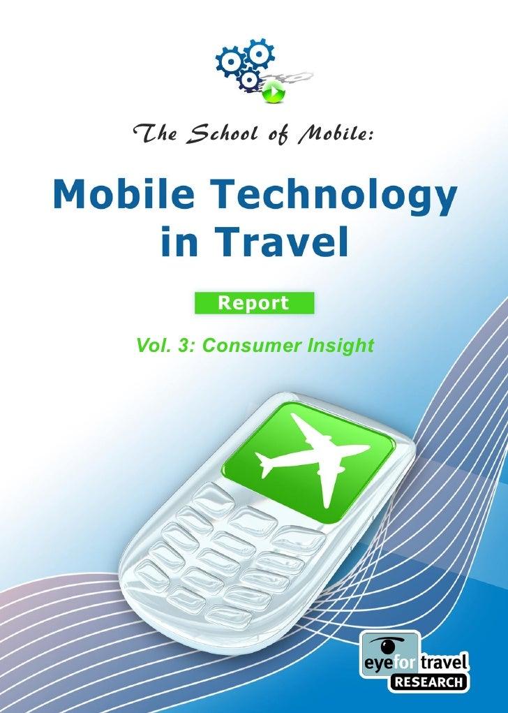 The School of Mobile:             Report  Vol. 3: Consumer Insight