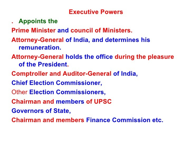 Attorney General Of India Holds Office
