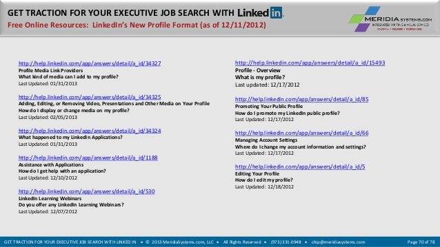 how to get jobs with linkedin