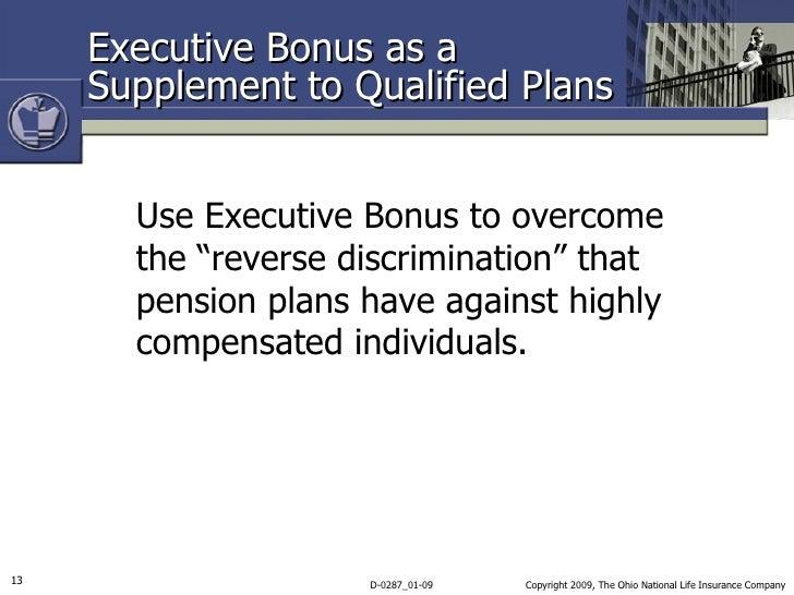 Executive Bonus Plan Mark Simon – Bonus Plan Template