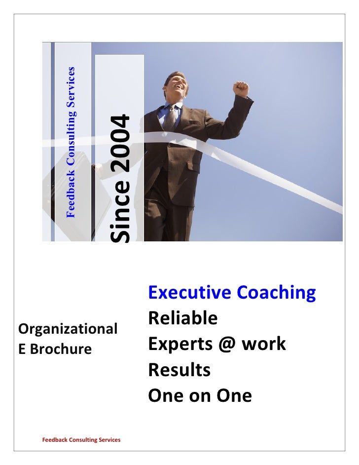 Feedback Consulting Services                                             Since 2004                                       ...