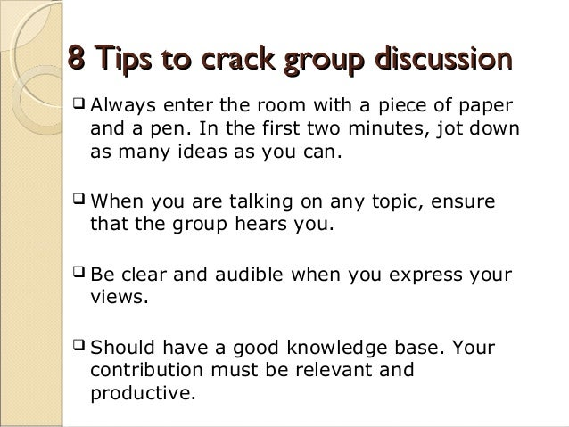 group discussion in communication Talking points: why group discussion is a must for meetings  face-to-face communication is important in a business setting because it allows relationships to.