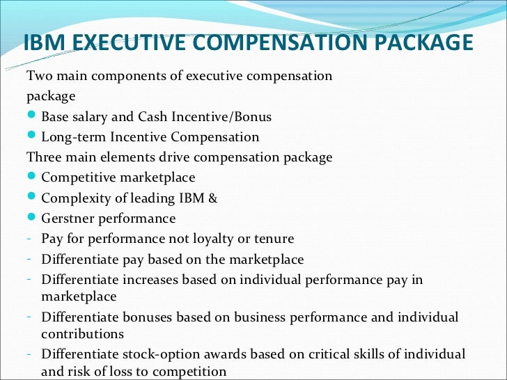 executive compensation Enter an executive or company name below to search our database of executive compensation packages including salaries, bonuses, stock grants, stock options and other types of compensation at thousands of publicly traded companies.