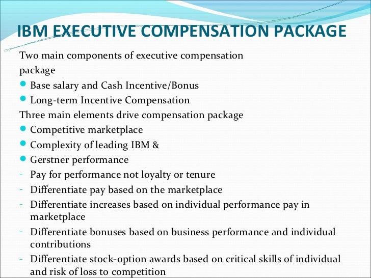 Compensation: Incentive Plans: Stock Options