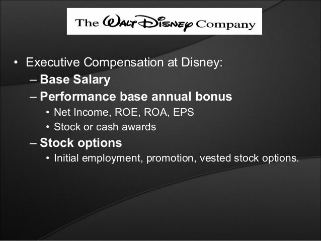 Stock options compensation
