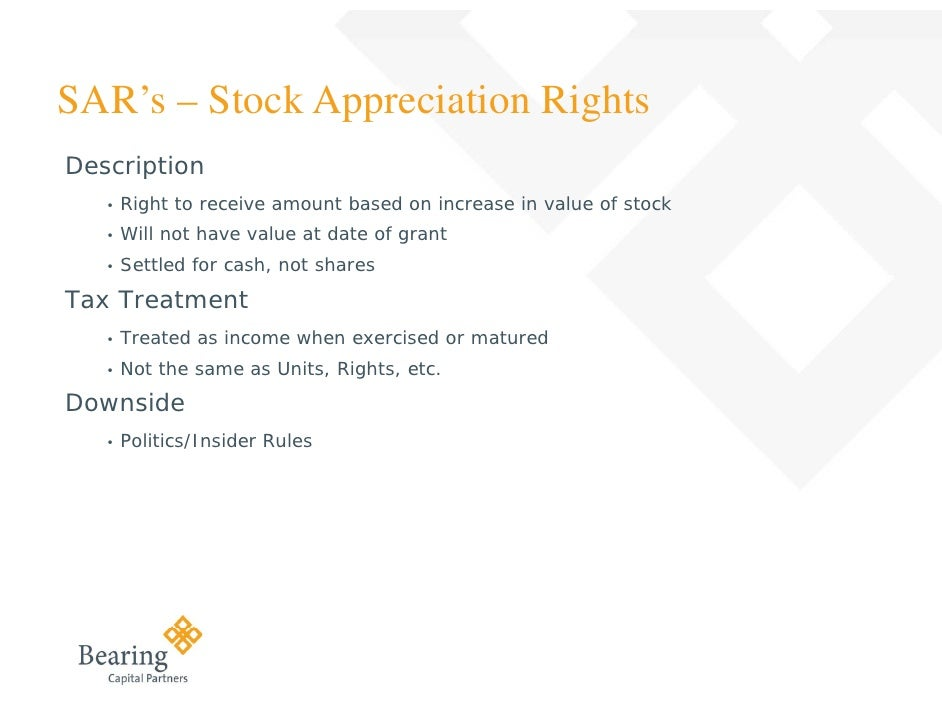 Tax treatment of listed stock options