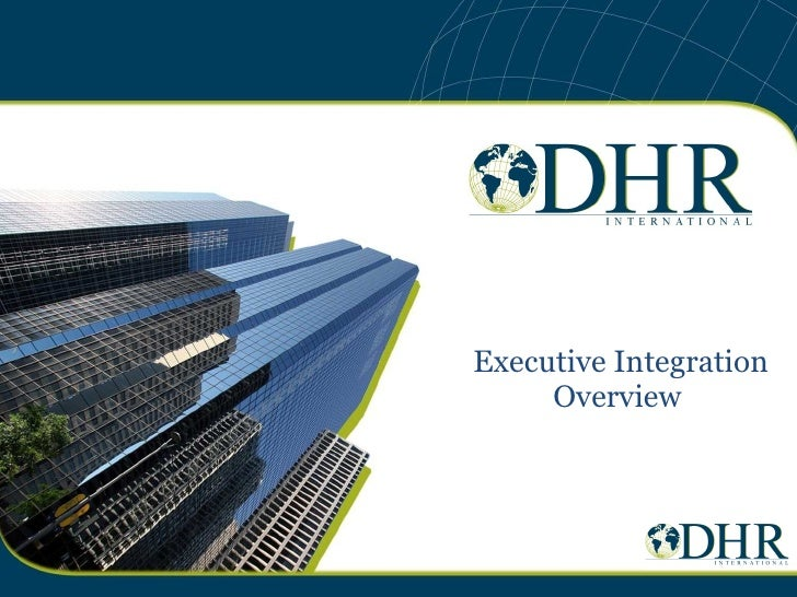 Executive Integration Overview