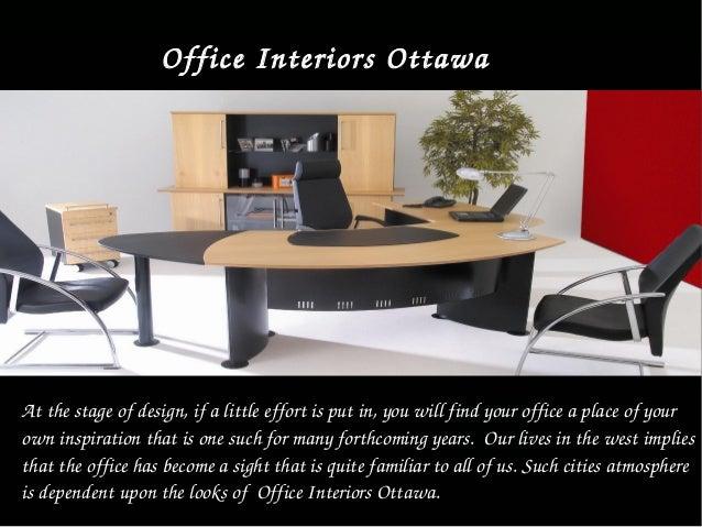 Executive Interior Furniture design In Ottawa