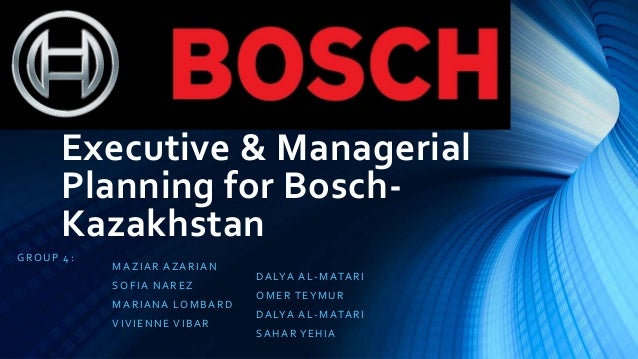 executive and managerial planning for bosch kazakhstan Kazakhstan p усский | norway honeywell is an equal opportunity employer qualified applicants will be considered without regard to age, race, creed, color, national origin, ancestry, marital status, affectional or sexual orientation.
